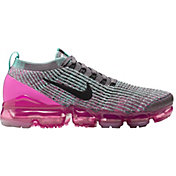 99054fe67c Product Image · Nike Women's Air VaporMax Flyknit 3 Shoes in Grey/Black/Pink