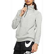 Nike Sportswear Women's Essential Quarter Zip Fleece Pullover