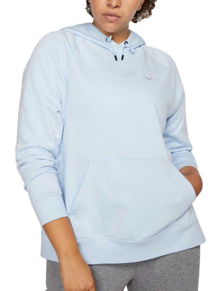 Nike Women's Plus Size Sportswear Essential Fleece Pullover Hoodie