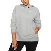 Nike Women's Plus Size Sportswear Essential  Fleece Pullover Hoodie