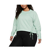 Nike Women's Plus Size Sportswear Essential Fleece Crewneck Sweatshirt