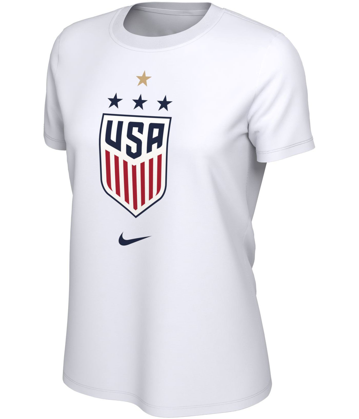 Nike Women's 2019 FIFA Women's World Cup Champions USA Soccer 4-Star White T-Shirt