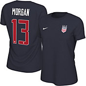 5a5c95c4b5c Product Image · Nike Women's USA Soccer Alex Morgan #13 Navy Player T-Shirt
