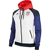 Nike Women's USA Soccer Windrunner White Full-Zip Jacket