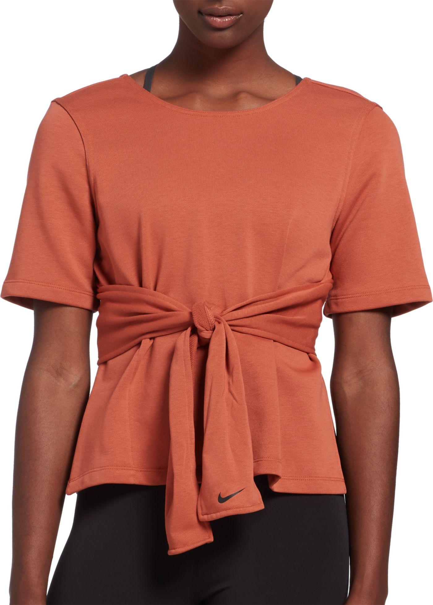 Nike Women's Short-Sleeve Training Top