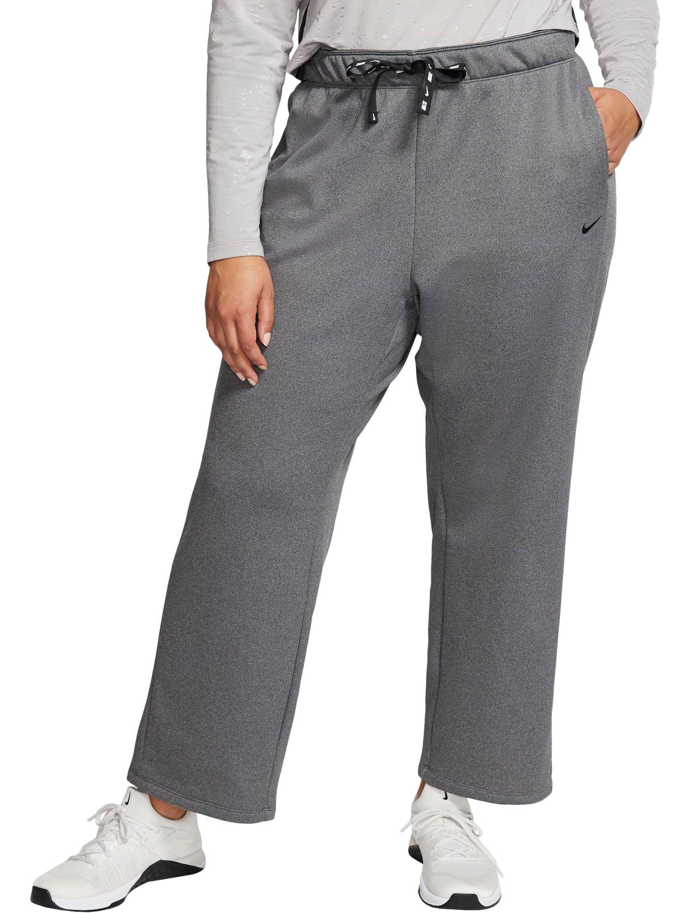 Nike Women's Plus Size Fleece Therma Training Pants