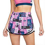 Nike Women's Patchwork Tempo Running Shorts