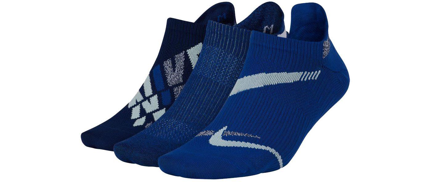 Nike Women's Everyday Plus Lightweight No-Show Training Socks 3-Pack