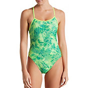 Nike Women's Doddle Crossback Cut-Out One Piece Swimsuit