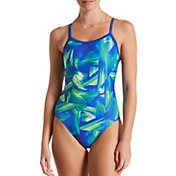 Nike Women's Twisted Break Racerback One Piece Swimsuit