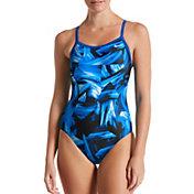Nike Women's Twisted Break Racerback One Piece Swimsuit