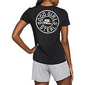 "Nike Women's ""GOOD GIRLS STEAL"" Dri-FIT Cotton Softball T-Shirt"