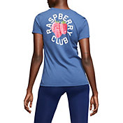 "Nike Women's ""RASPBERRY CLUB"" Dri-FIT Cotton Softball T-Shirt"