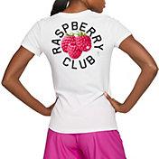 "Nike Women's ""RASPBERRY CLUB"" Dri-FIT Cotton Softball T-Shirt"