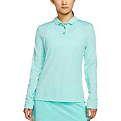 Nike Women's Dri-FIT Long Sleeve Golf Polo