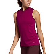 Nike Women's Dri-FIT Blade Sleeveless Golf Polo