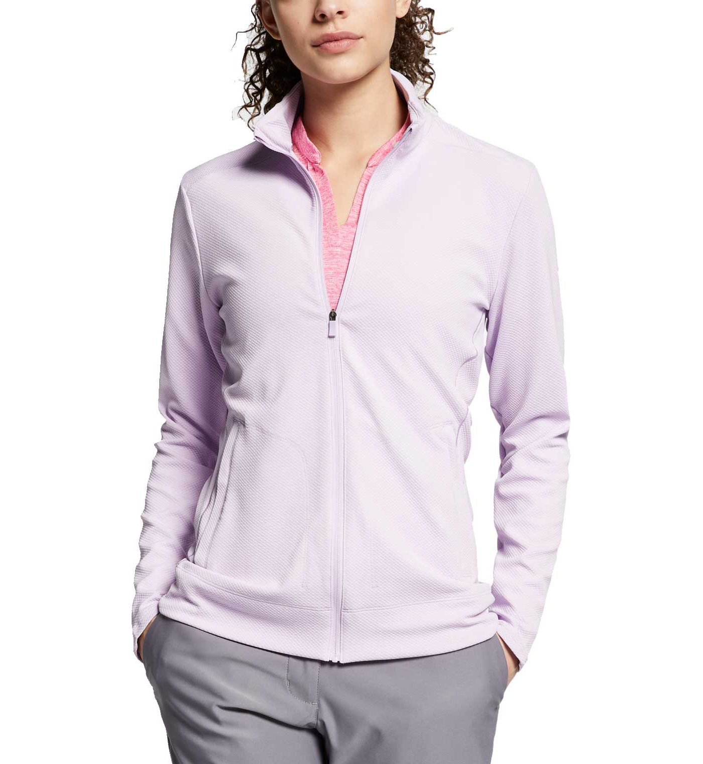 Nike Women's Dri-FIT Full-Zip Golf Jacket