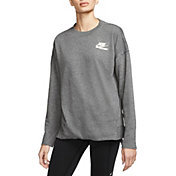 Nike Women's Long-Sleeve Softball Crew Shirt