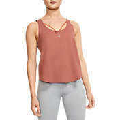 Nike Women's Yoga Luxe Henley Tank Top