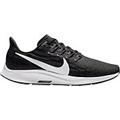 Nike Women's Air Zoom Pegasus 36 Running Shoes in Black/White