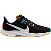 Nike Women's Air Zoom Pegasus 36 Running Shoes in Black/Yellow/Green