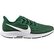 Nike Women's Air Zoom Pegasus 36 Running Shoes in Green/White