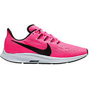 Nike Women's Air Zoom Pegasus 36 Running Shoes in Hyper Pink/Black
