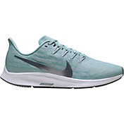 Nike Women's Air Zoom Pegasus 36 Running Shoes in Ocean/Grey
