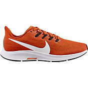 Nike Women's Air Zoom Pegasus 36 Running Shoes in Orange/White