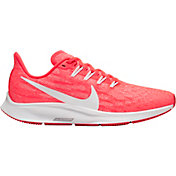 Nike Women's Air Zoom Pegasus 36 Running Shoes in Pink/Grey/White
