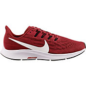 Nike Women's Air Zoom Pegasus 36 Running Shoes in Red/White