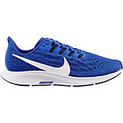 Nike Women's Air Zoom Pegasus 36 Running Shoes in Royal/White