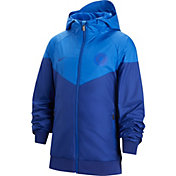 Nike Youth Chelsea FC Windrunner Blue Full-Zip Jacket