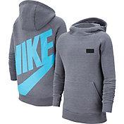 Nike Youth Tottenham Hotspur Team Grey Pullover Hoodie