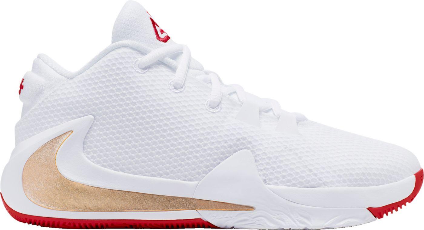 Nike Kids' Grade School Zoom Freak 1 Basketball Shoes