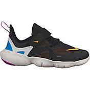 50918233894 Product Image · Nike Kids  Preschool Free RN 5.0 Running Shoes · Black Laser  Orange  ...