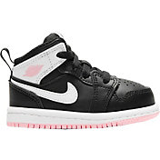 Jordan Kids' Toddler Jordan 1 Mid Basketball Shoes