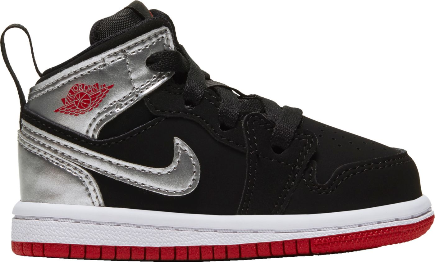 Jordan Toddler Jordan 1 Mid Basketball Shoes