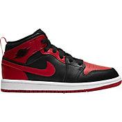 Jordan Kids' Preschool Jordan 1 Mid Basketball Shoes