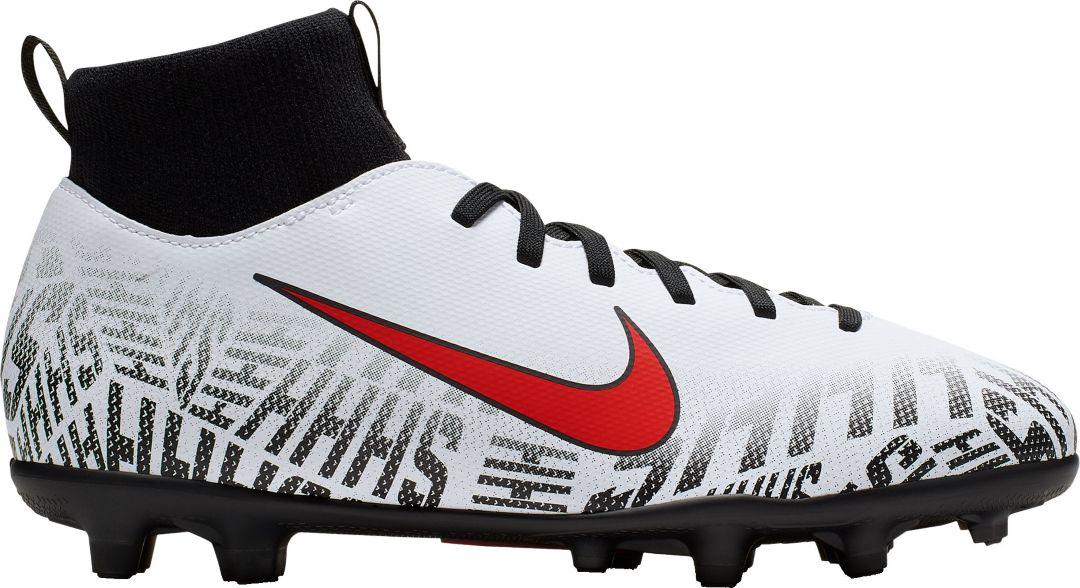 low cost e0db4 c537d Nike Kids' Mercurial Superfly 6 Club Neymar Jr. FG Soccer Cleats
