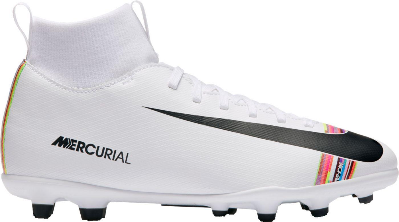 Nike Kids' Mercurial Superfly 6 Club FG Soccer Cleats