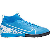 Nike Kids' Mercurial Superfly 7 Academy Indoor Soccer Shoes
