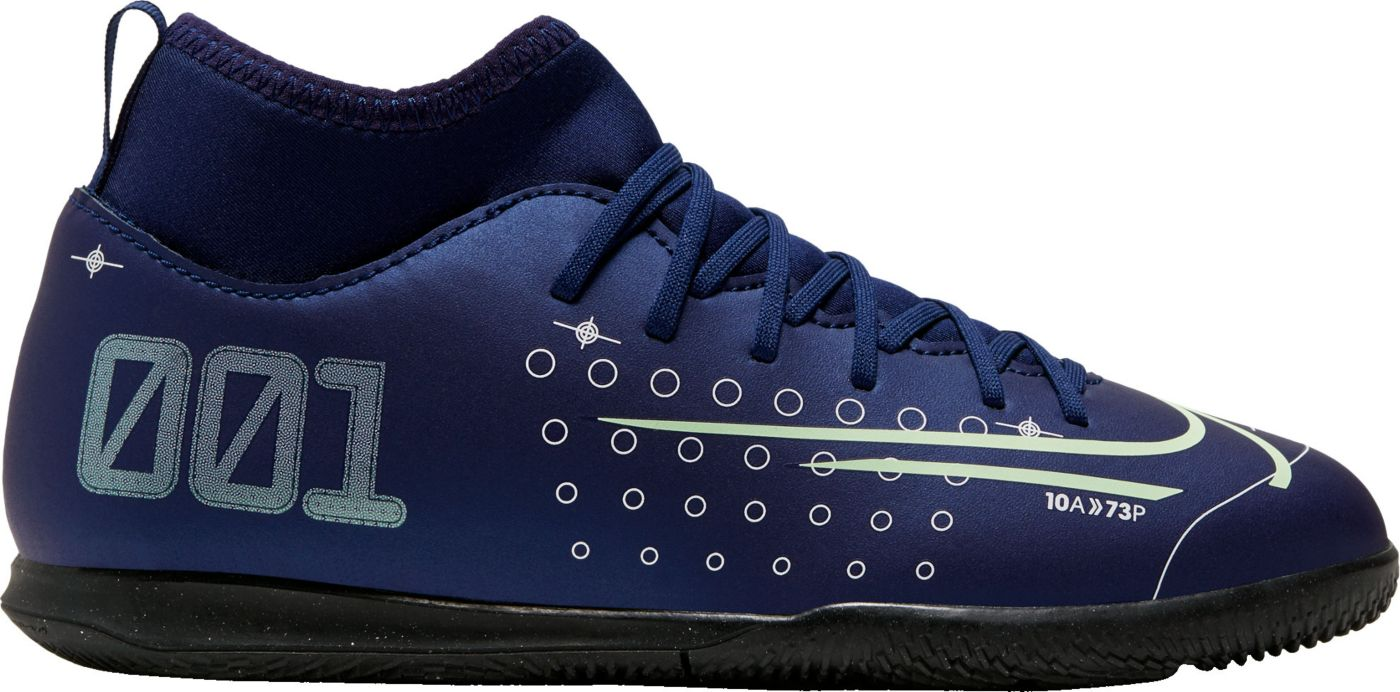 Nike Kids' Mercurial Superfly 7 Club MDS Indoor Soccer Shoes