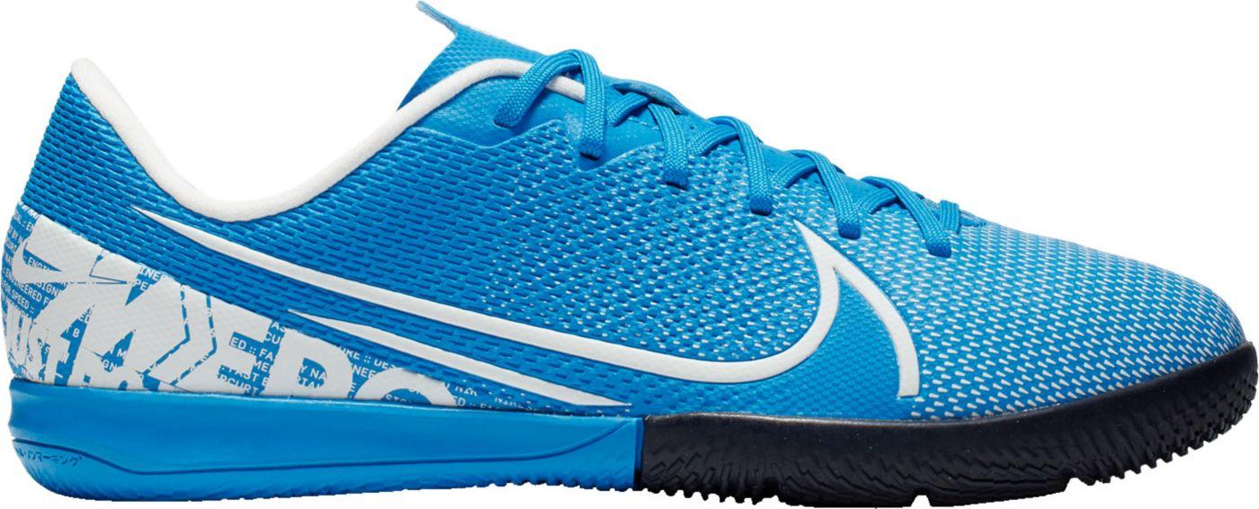 Nike Kids' Mercurial Vapor 13 Academy Indoor Soccer Shoes