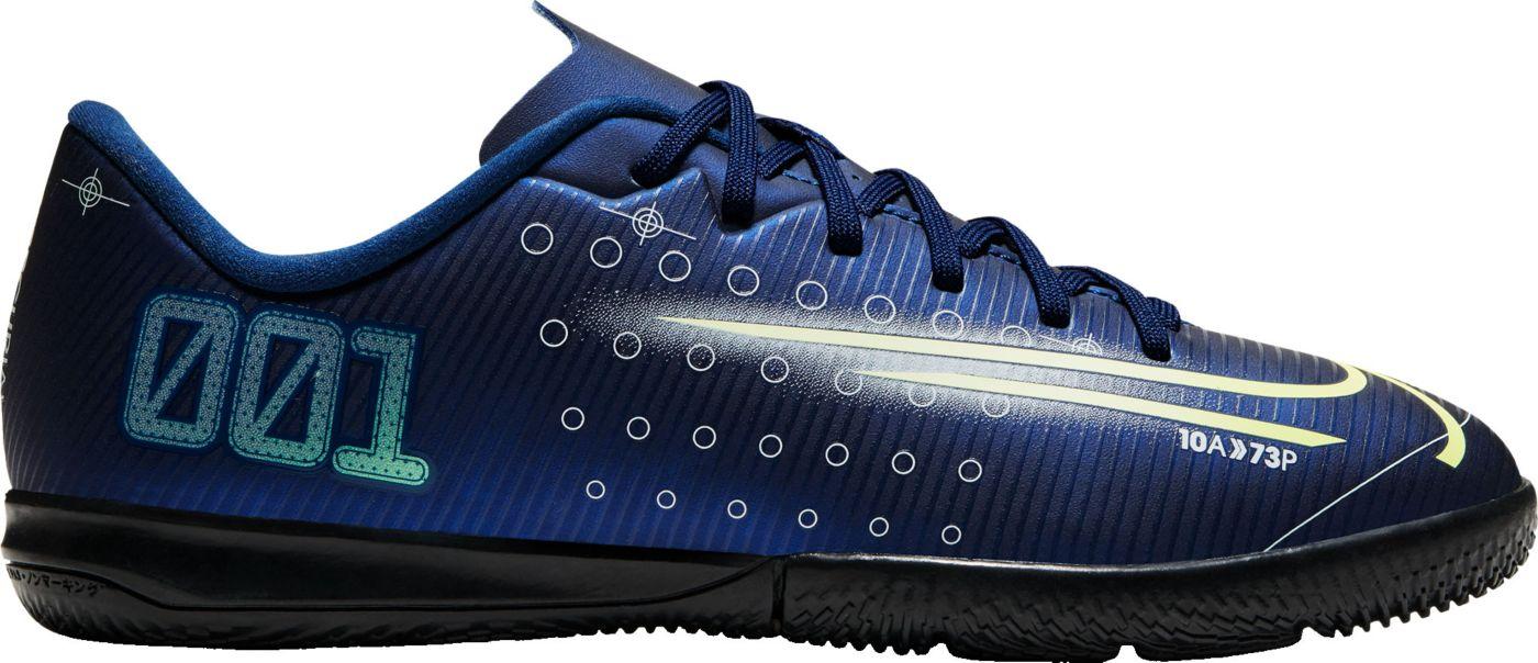 Nike Kids' Mercurial Vapor 13 Academy MDS Indoor Soccer Shoes