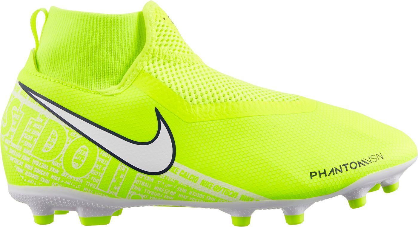 Nike Kids' Phantom Vision Academy Dynamic Fit FG Soccer Cleats