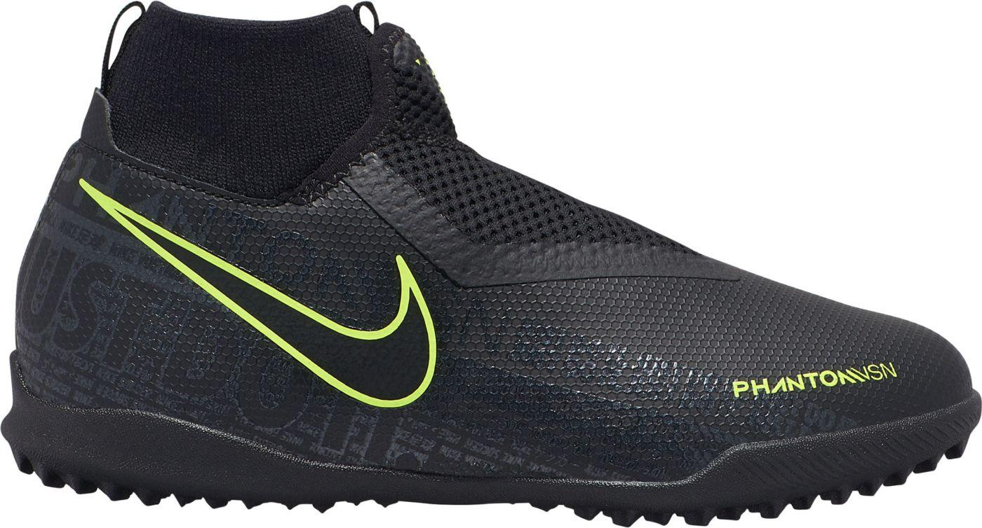 Nike Kids' Phantom Vision Academy Dynamic Fit Turf Soccer Cleats