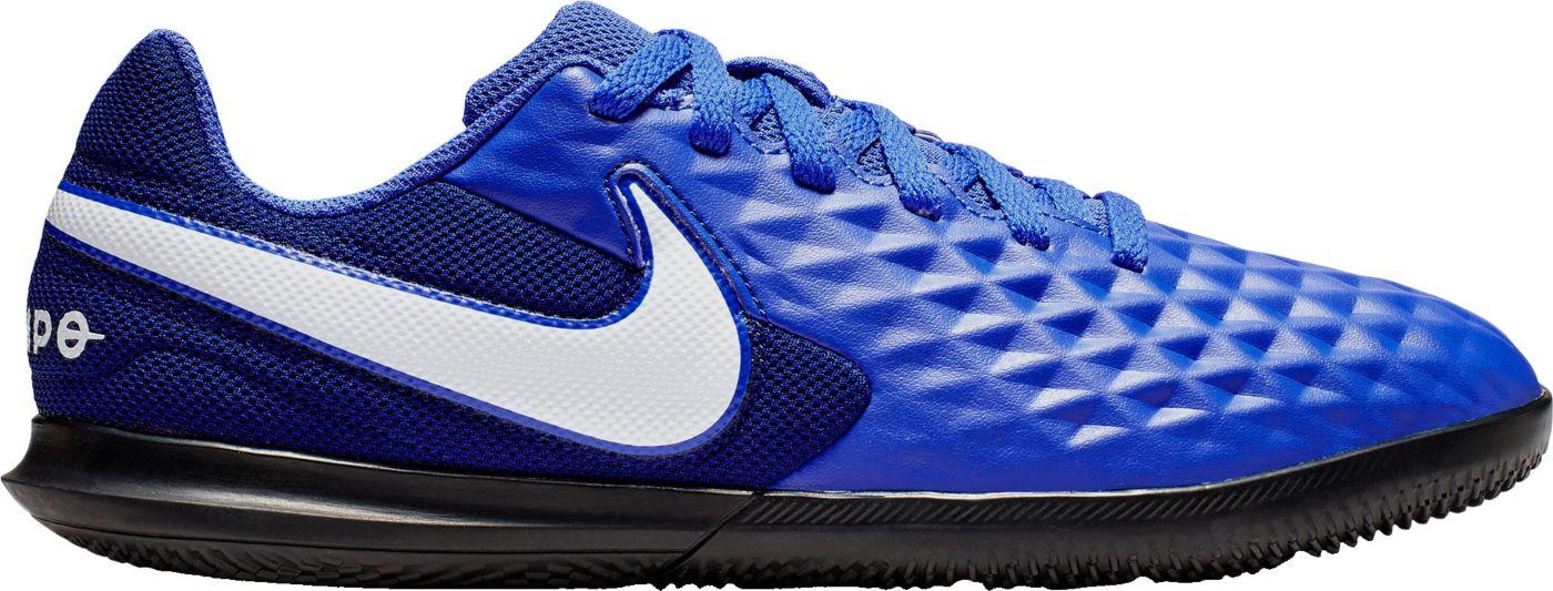 Nike Kids' Tiempo Legend 8 Club Indoor Soccer Shoes