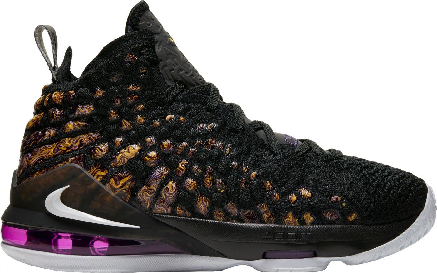 Nike Kids' Grade School LeBron 17 Basketball Shoes