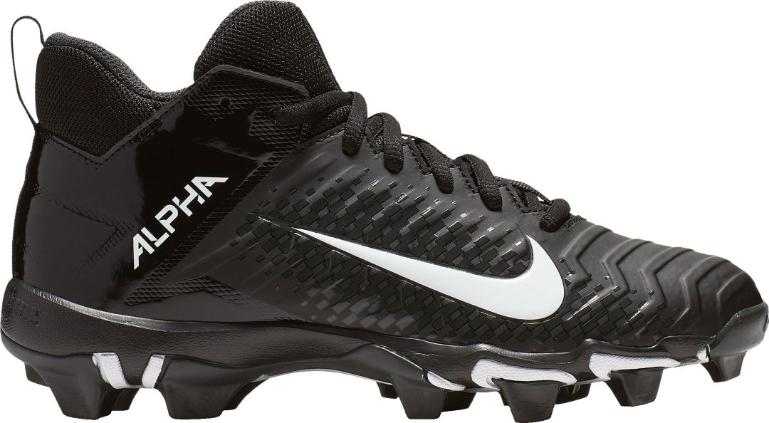 best website d97cc 2b3db Nike Kids' Alpha Menace Varsity 2 Mid Football Cleats | DICK'S ...
